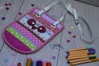 сумочка для племянницы из лент