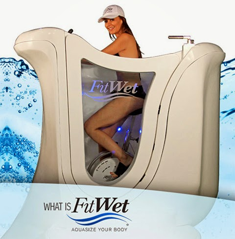 FitWet Hot Tub Fitness Bike