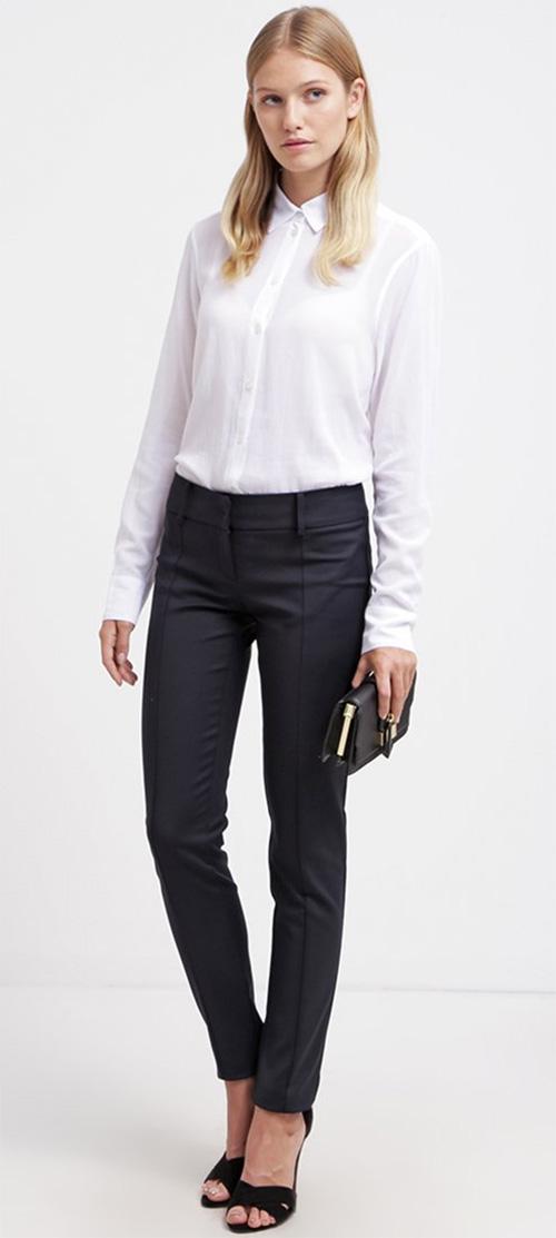 Pantalon noir Patrizia Pepe