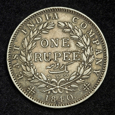 Indian coins collection one rupee silver coin
