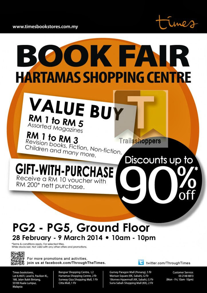 Times Book Fair Hartamas Shopping Mall