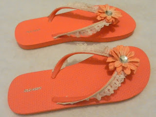 refashion for summer: flip flop fun series