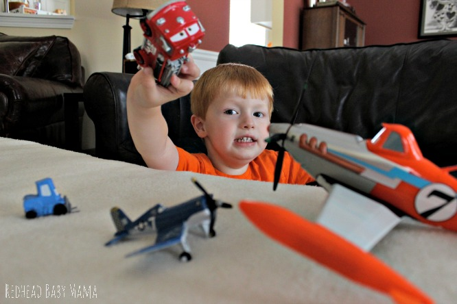Disney Planes Fire and Rescue playtime