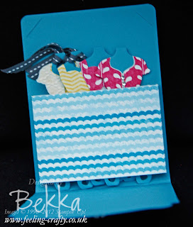 Gift Pouch with Dress Form Tags by Stampin' Up! Demonstrator Bekka Prideaux - find out about joining her team of Stampers here