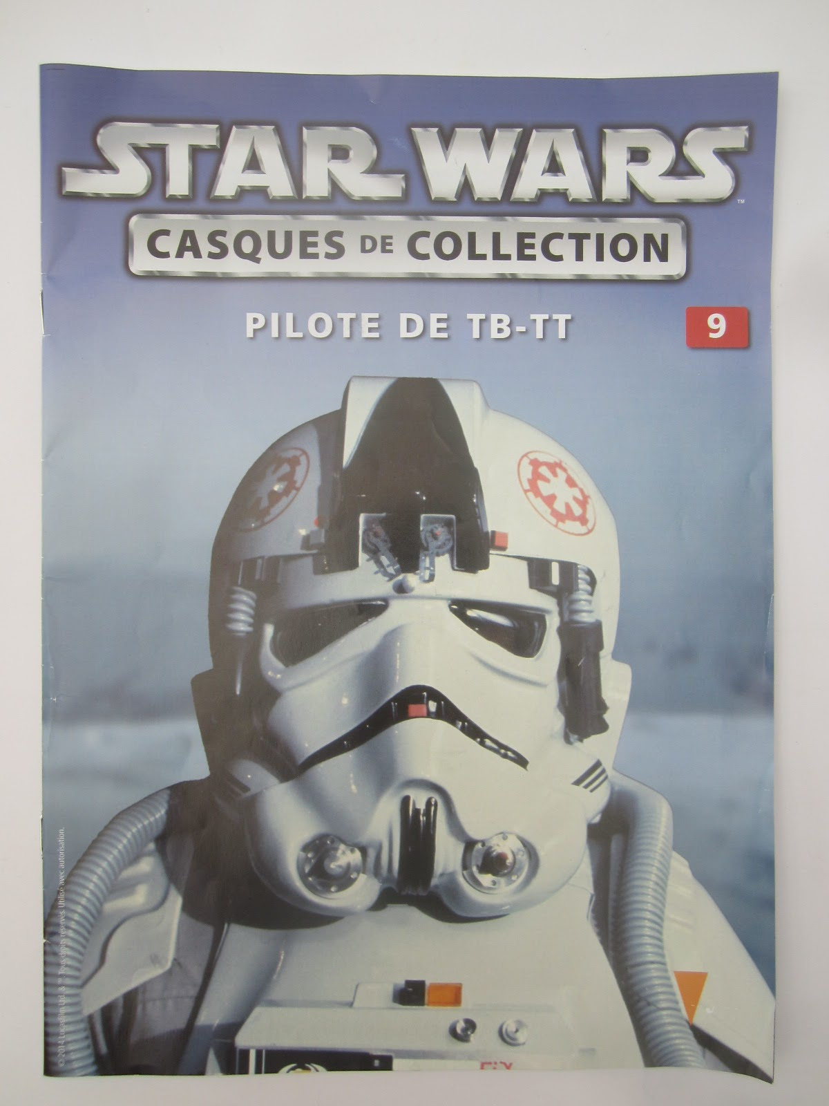 Star wars collection casques de collection 9 pilote de - Lego star wars tb tt ...