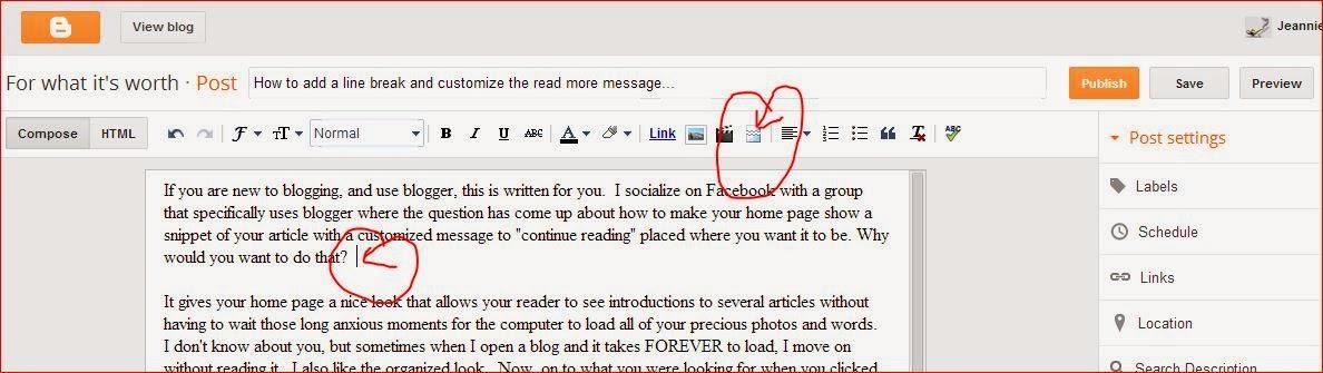 Page Break Icon Click The Page Break Icon in
