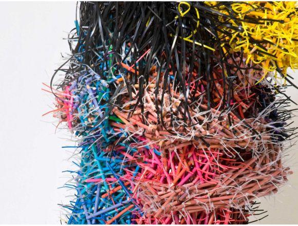 Federico Uribe esculturas lápis