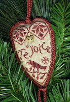 Quaker Rejoice Heart Ornament - $7.00