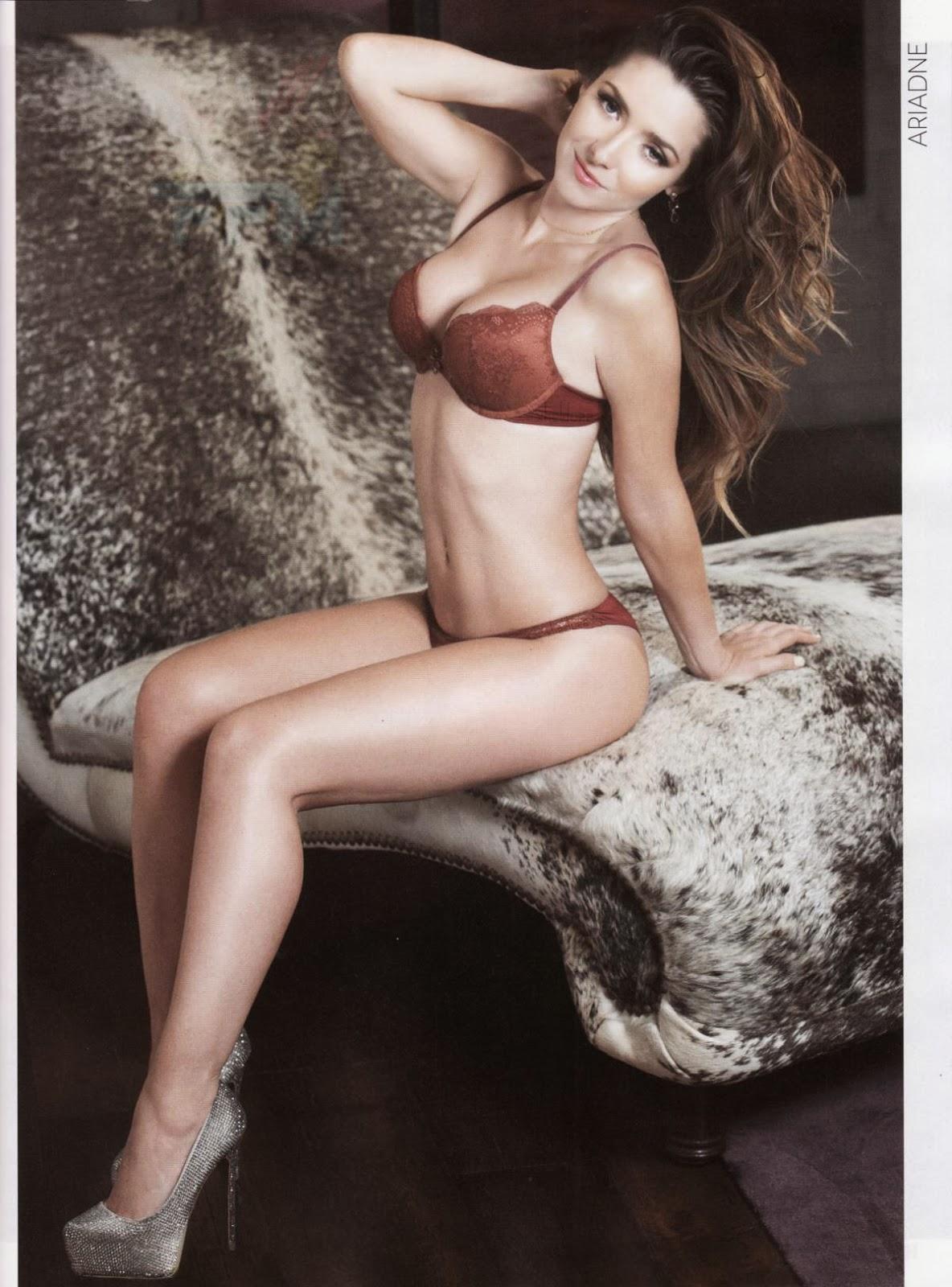 Galeria de fotos Ariadne Diaz Revista H Para Hombres Enero 2014 - Todo ...