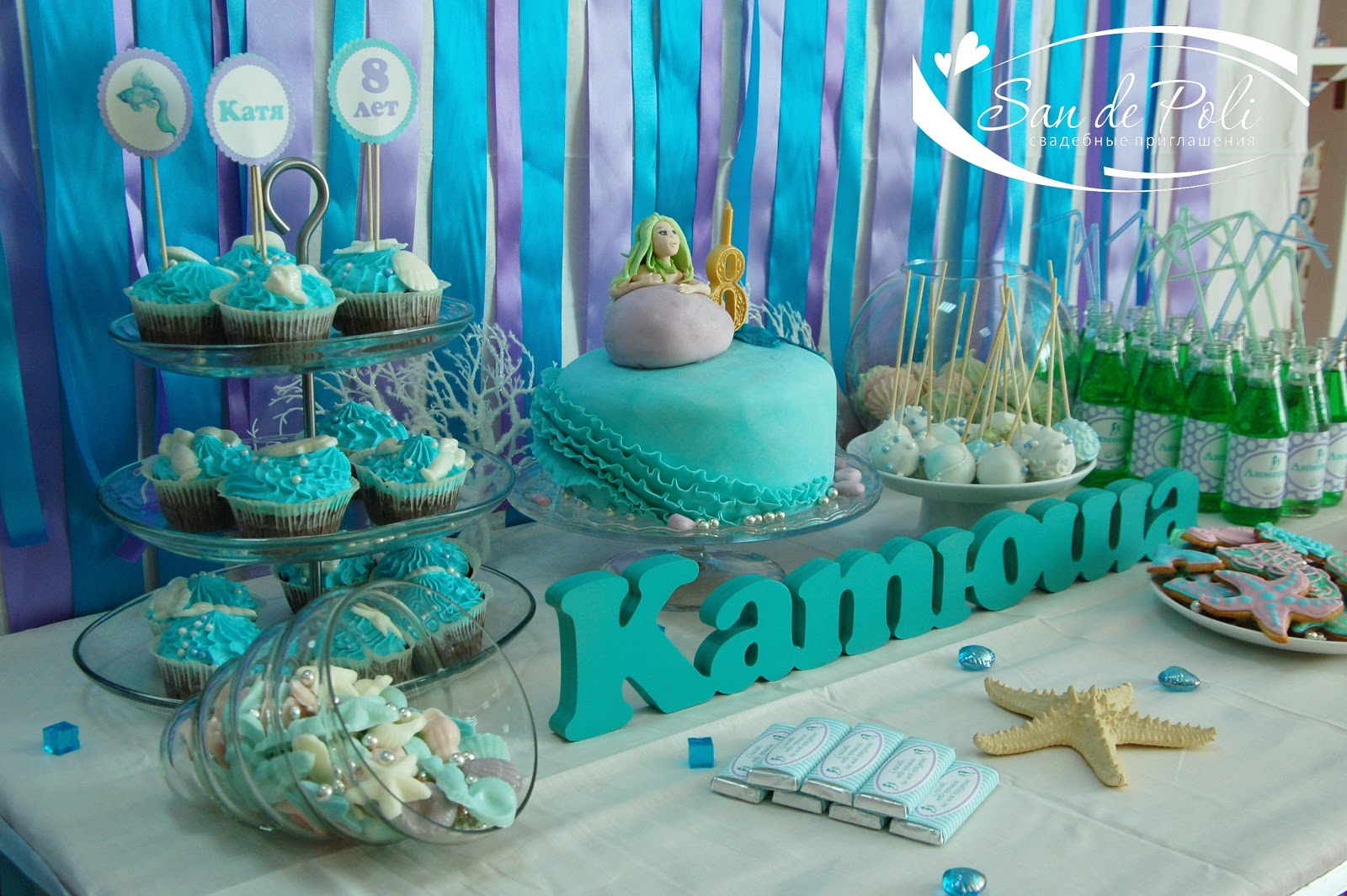 Декор для дня рождения ребенка