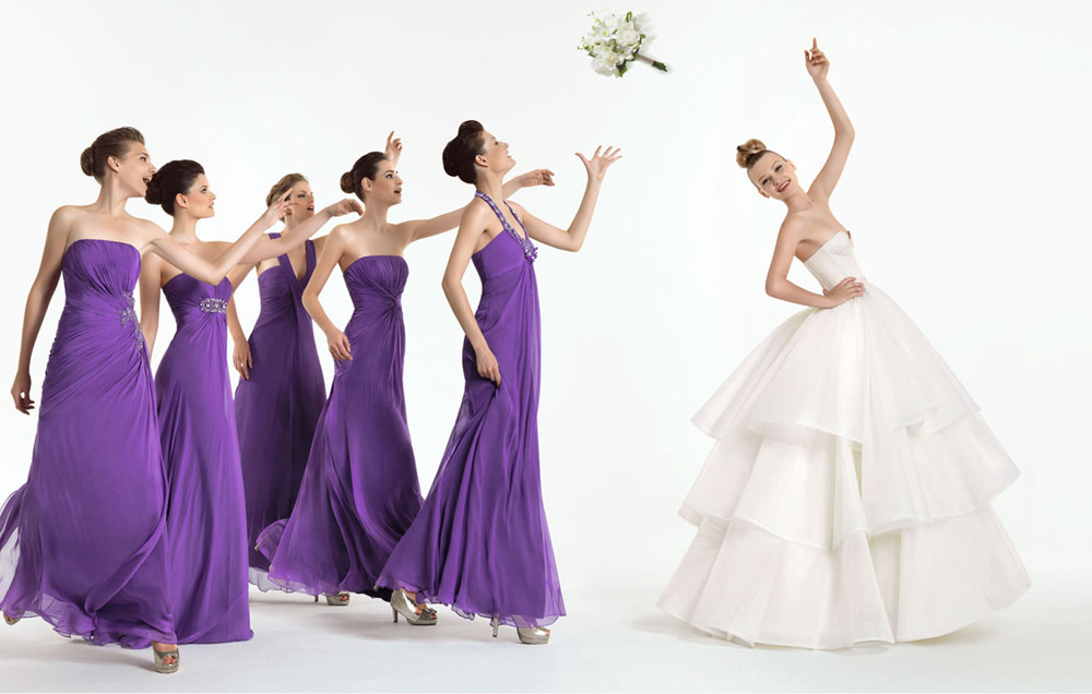 FASHION TREND: Long Style Bridesmaid Dresses From Rosa Clara