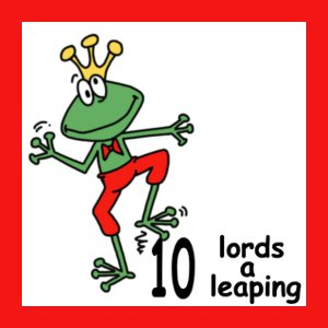 today is the line goes on the tenth day of christmas my true love gave to me ten lords a leaping todays challenge is to make a masculine card