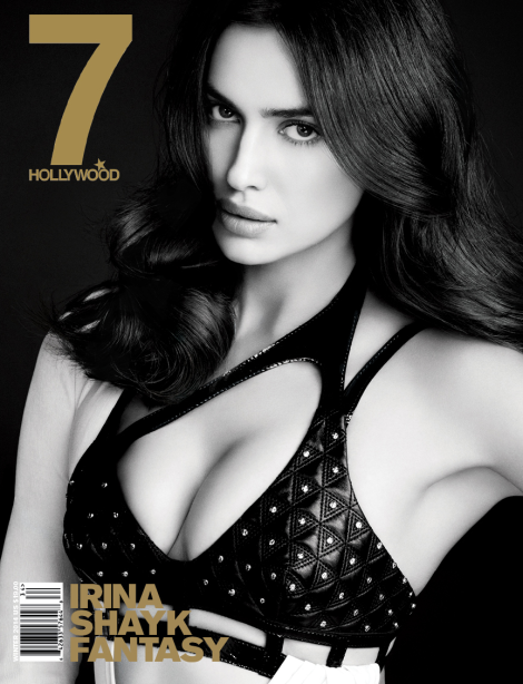 Irina Shayk covers 7 Hollywood Magazine's Winter 2014