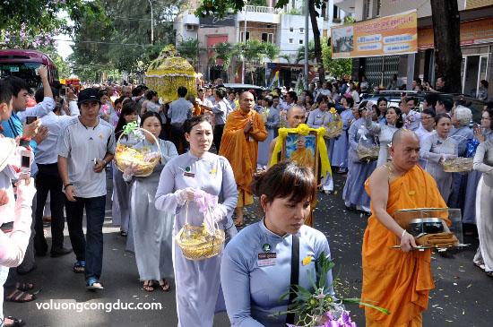 Cung tiễn Trà tỳ Kim Quan Cố HT - Thích Giác Dũng - voluongcongduc.com -25