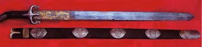 foto pedang nabi muhammad Al Rasub