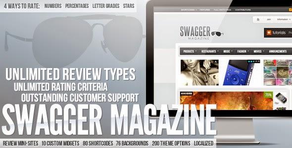 Descargar] Plantilla Wordpress SwagMag v1.7 – Moda / Música ...