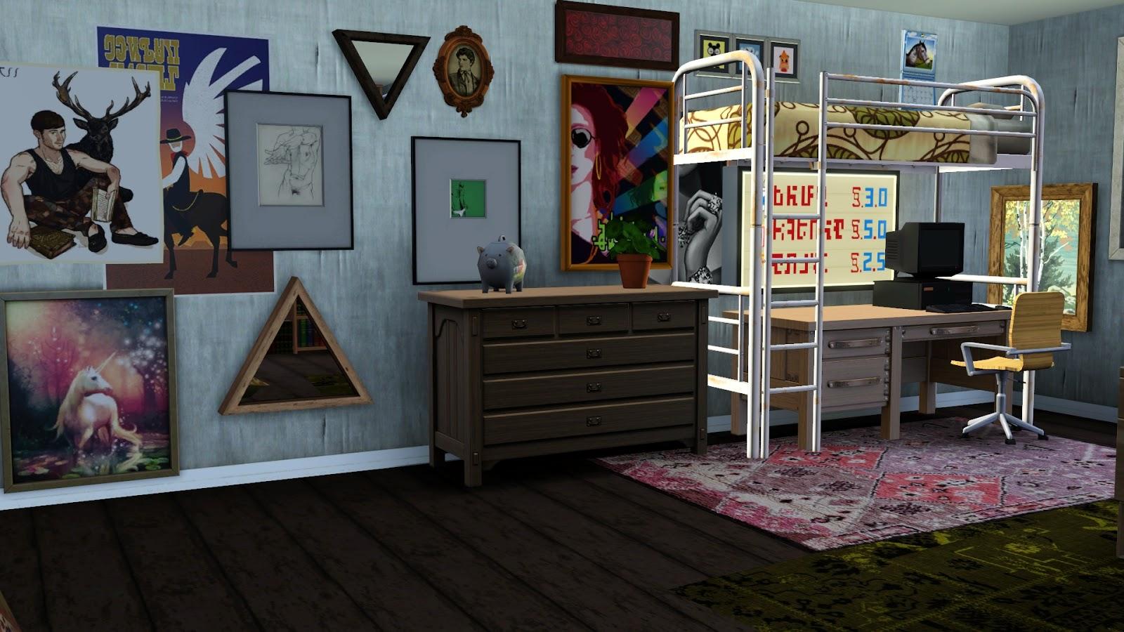 Decorating Ideas > B5Studio ~ 164505_Sims 3 Dorm Room Ideas