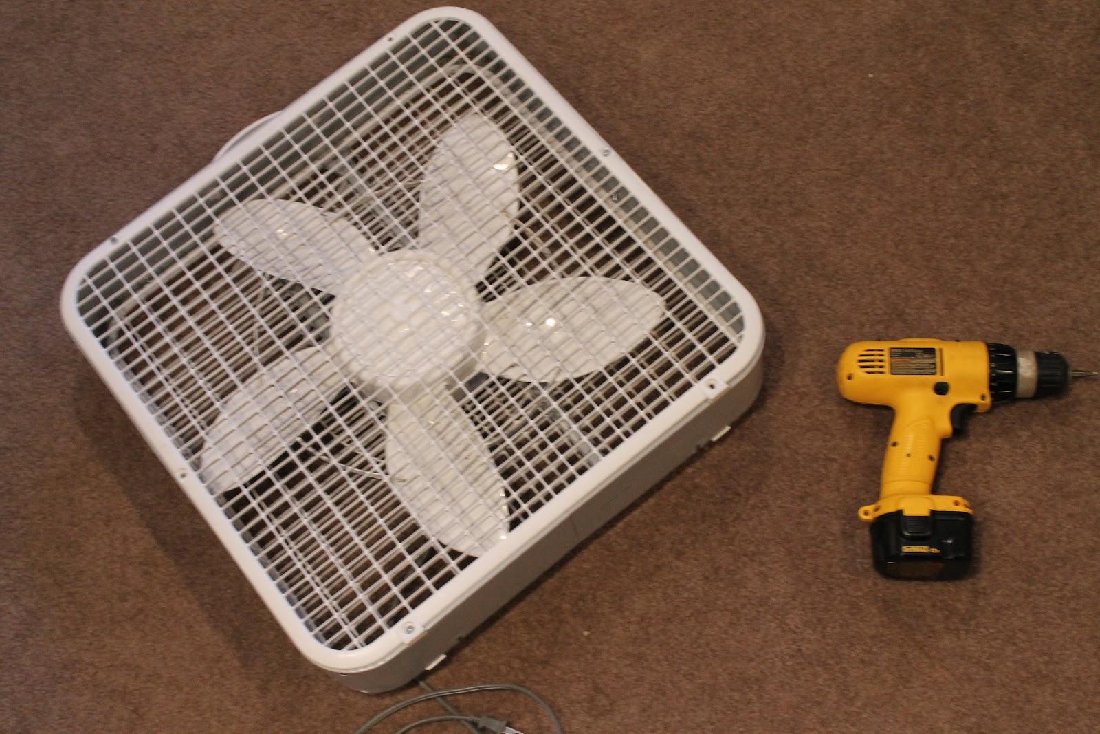 Small Box Fan : A little of this custom box fan