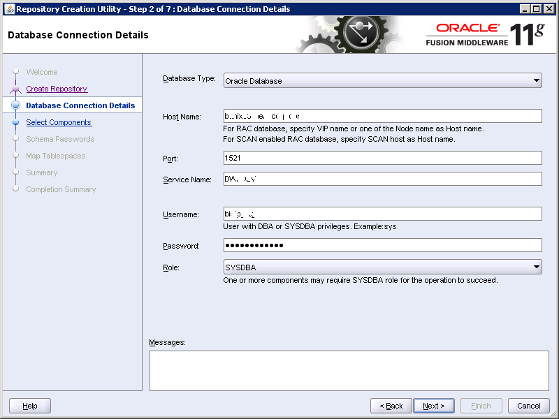 how to create repository in obiee 11g