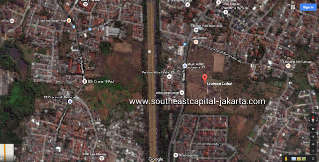Peta Southeast Capital Jakarta Google Map