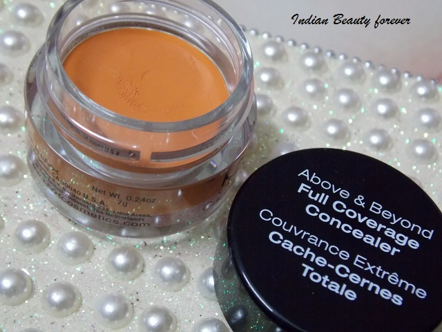 Nyx Full Cover Concealer in a Jar Orange swatches india
