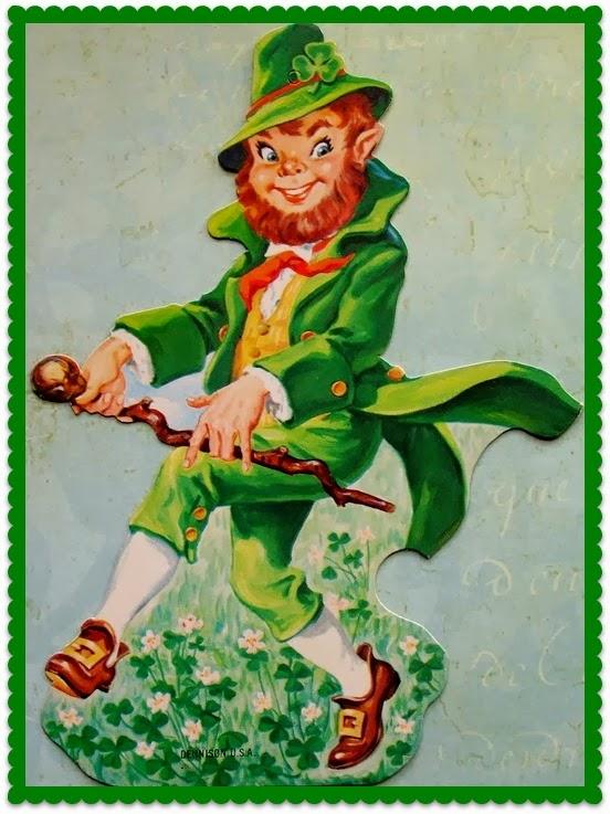 Zetta's Aprons: My Lucky Charms...Secret Leprechaun Swap!