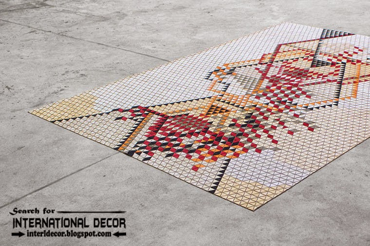 New collection of Eco-friendly wooden carpet and rugs, plywood textile carpet