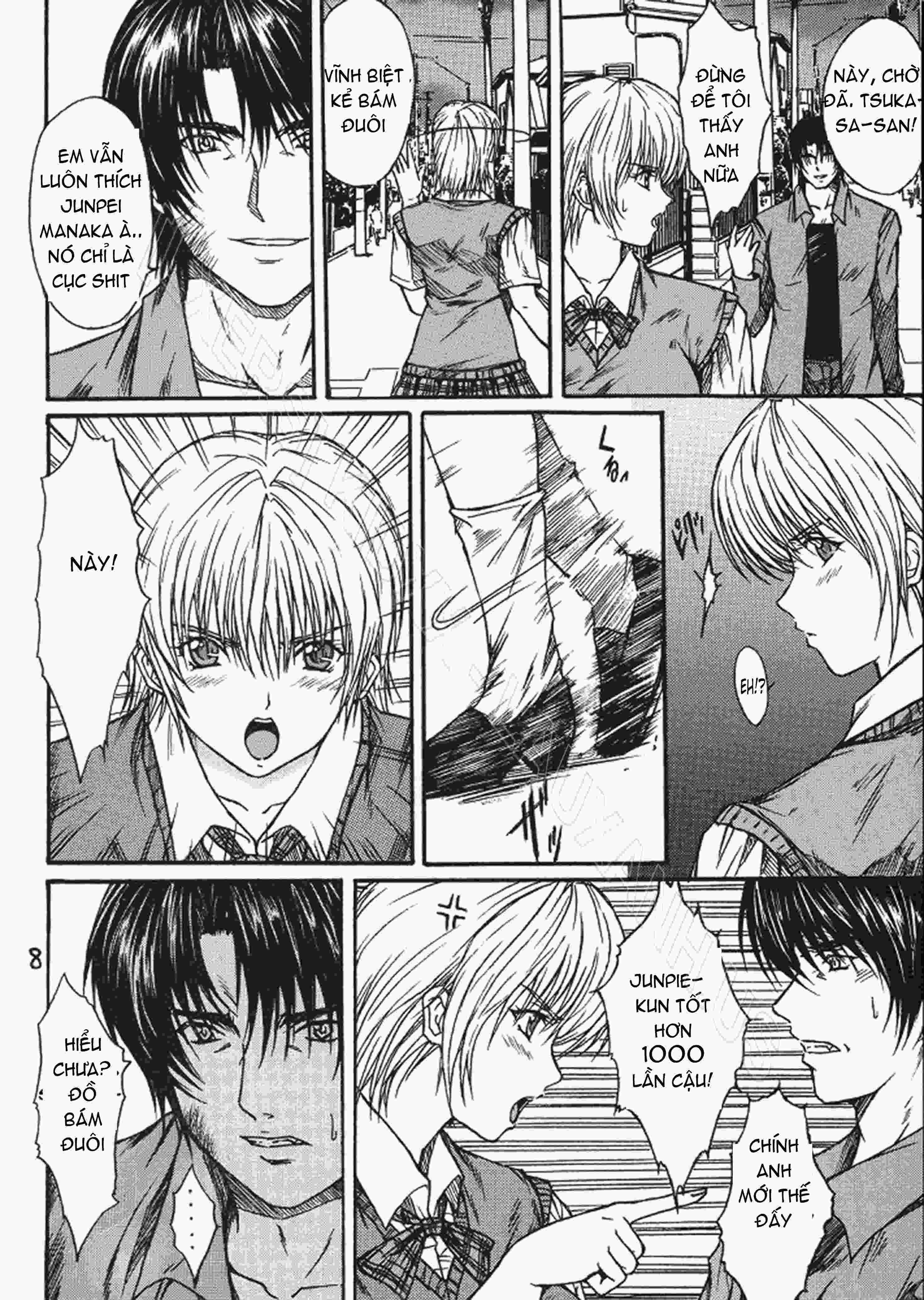 TruyenHay.Com - Ảnh 7 - Ryoujoku Rensa Chapter 3