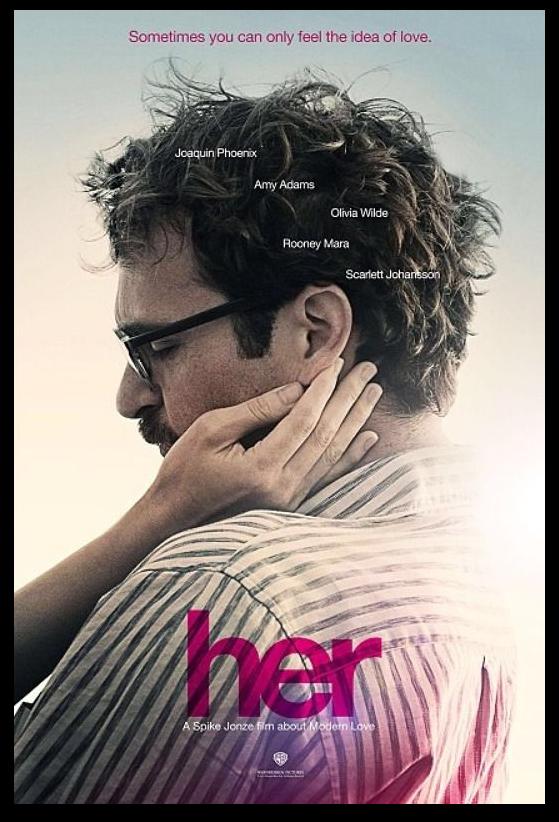 HER Joaquin Phoenix film Spike Jonze Love Story cartel 2