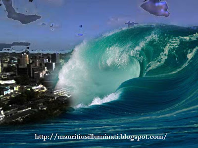 flood mauritius port louis tsunami sea