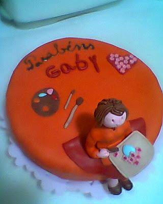 o bolo da professora