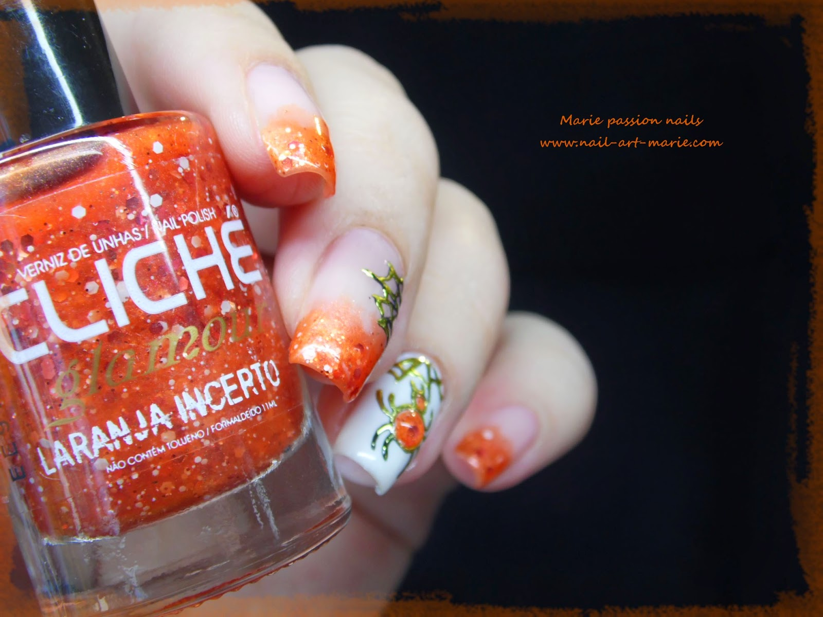 Nail Art Halloween Chic7