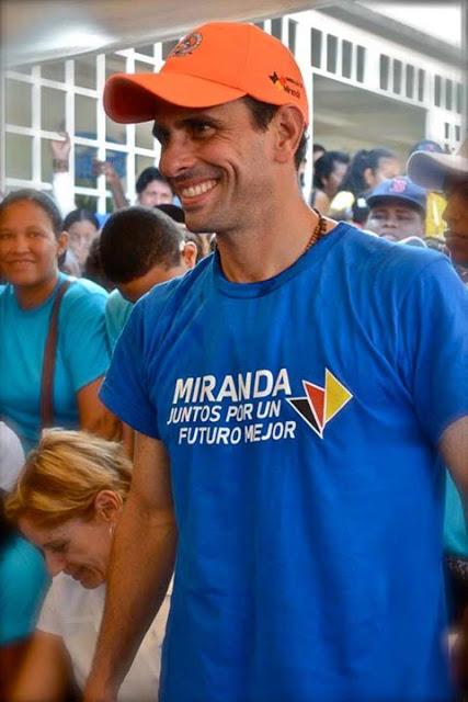Henrrique Capriles Radonski.