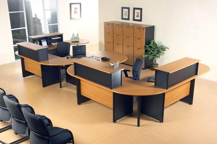 meja kantor kursi filling cabinet partis