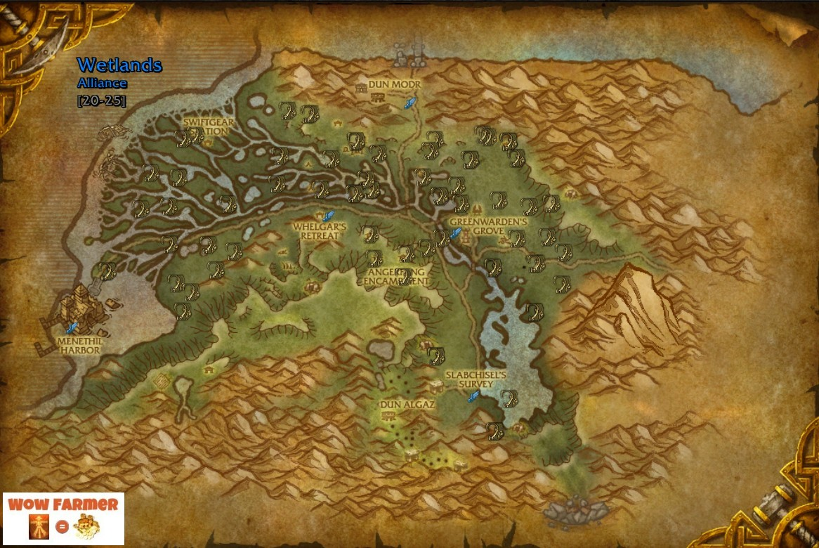 A Good Place To Farm Briarthorn Is At Wetlands On The Eastern Kingdoms Continent Stack Of Goes For 5 50 Wow Gold In Auction House