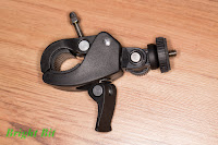 Bicycle Handlebar Mount Holder, closed view