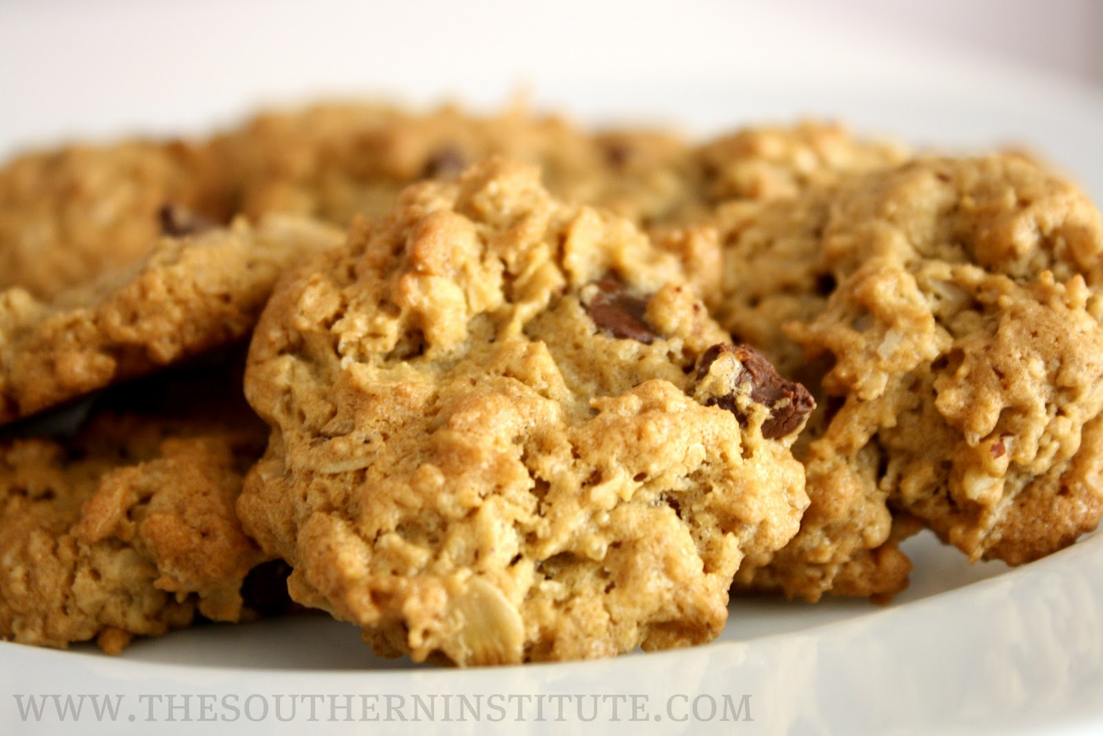 Oatmeal Peanut Butter Chocolate Chip Cookies (gluten free ...