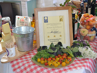 Scottish Café & Restaurant produce & sustainability award.