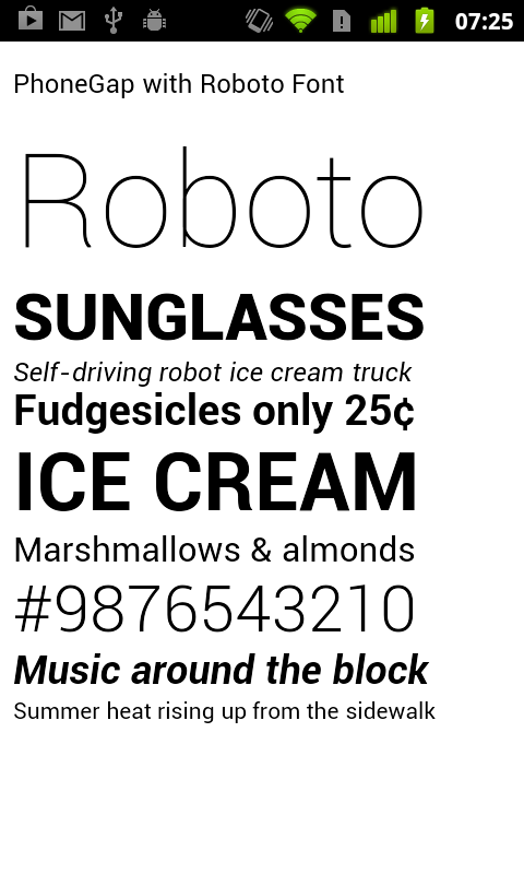 Roboto Font Free by Christian Robertson | Font Squirrel