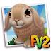 Açık kahverengi Fransız Lop tavşanı alma hilesi