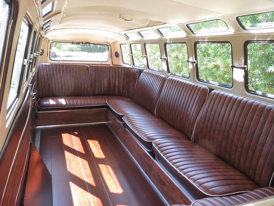 So Much Want One Of A Kind Vw Microbus Stretch Limo Sold For 220k Carscoops Com