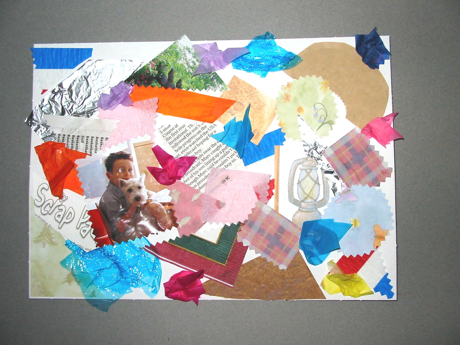 7 Easy Ways to Make a Collage (with Pictures) - wikiHow How to make a collage of photos on chart paper