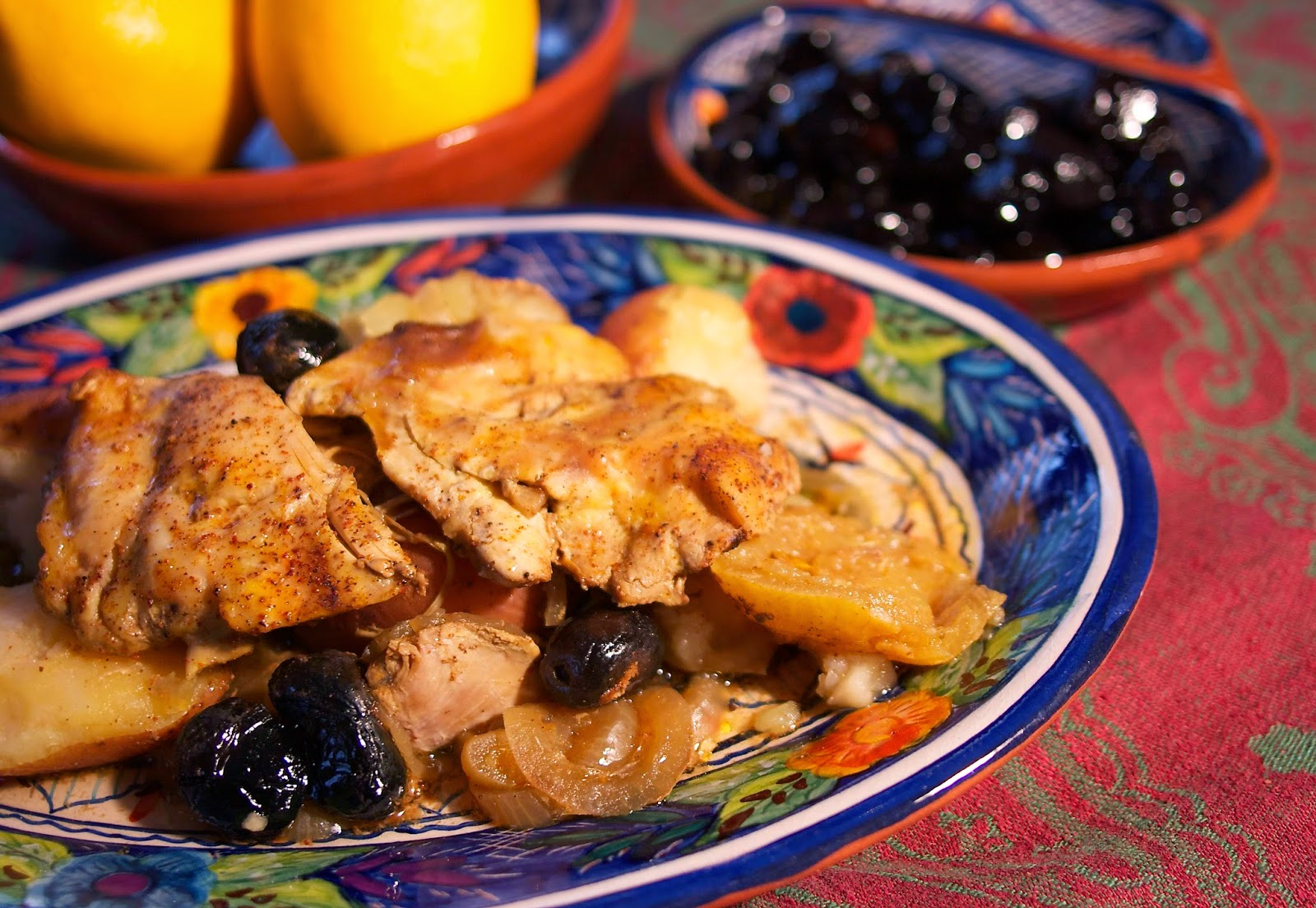 Slow Cooker Moroccan Chicken #Foodie Friday | Simple Living and Eating ...