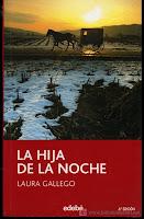 """Portada del libro """"La hija de la noche"""""""