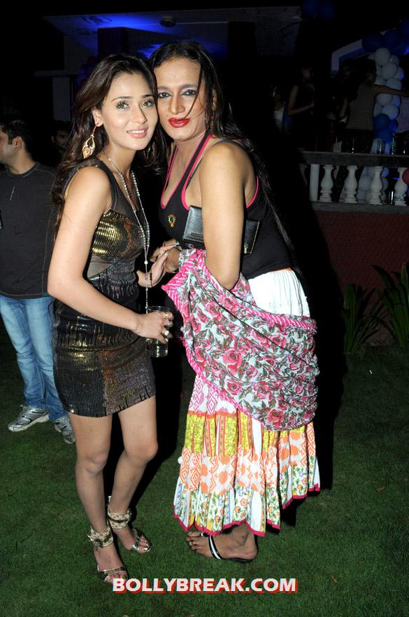 , Sara Khan's Birthday Bash Pics - 2012