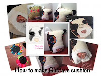 How to make Gustave cushion