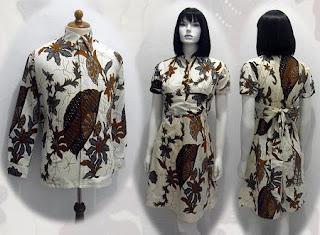 model baju batik 2012