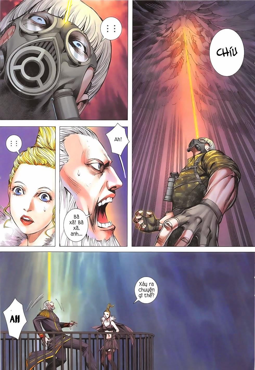 Đại Quân Phiệt chap 53 - Trang 21