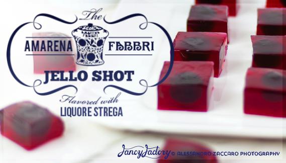 gelatine di amarena fabbri • amarena fabbri jello shot