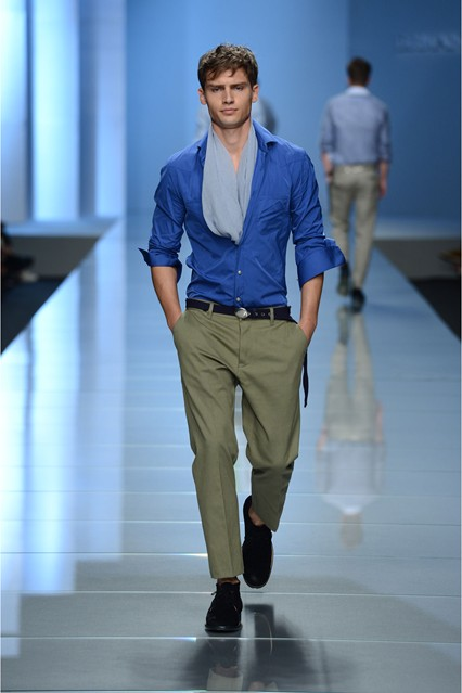 Spring Lookbook 2013 for men. Ermanno Scervino